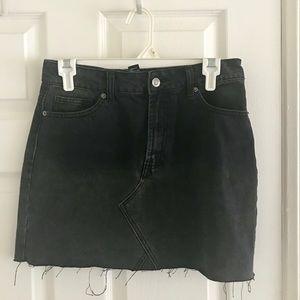 ~~~NEW Black Jean Skirt ~~~